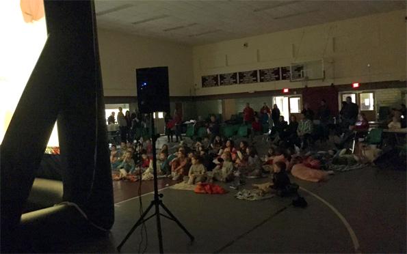 Elementary School Fundraiser Viewing