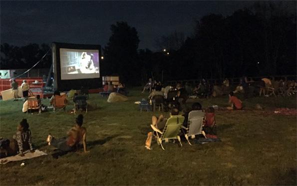 Park Outdoor Movie Screening