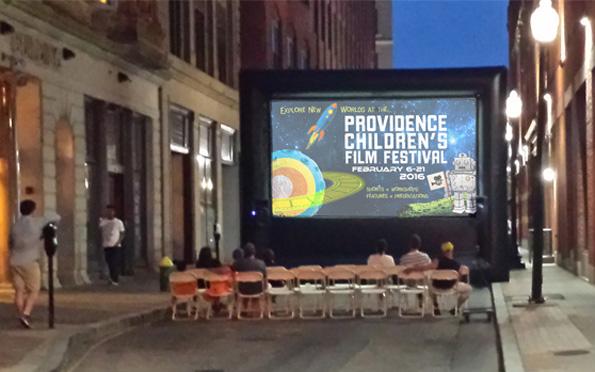 PVDFest Outdoor Screening